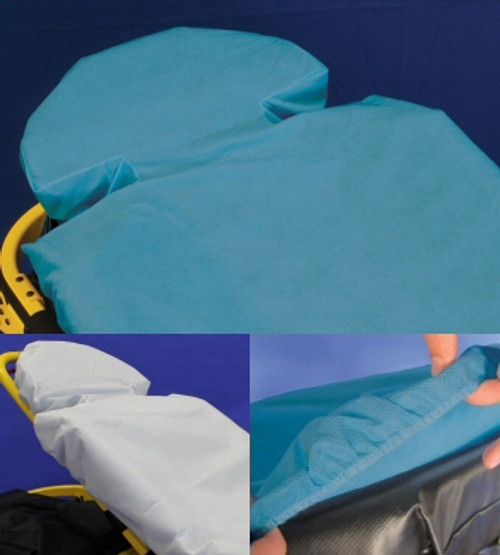 G-Force Disposable Fitted Stretcher Sheets by Taylor - 30 per Case