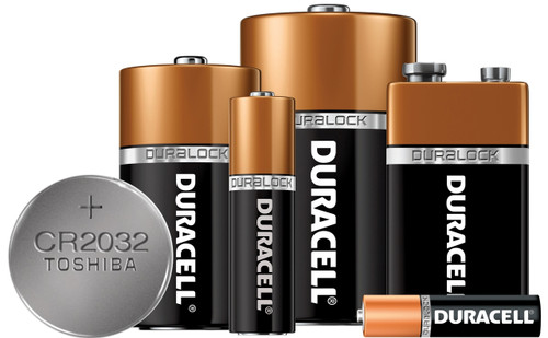 Batteries - Alkaline Cells and Lithium Button Cells
