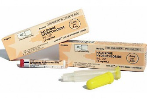 Narcan (Naloxone) in 2mg/2ml Luer-Jet™ Prefilled Syringe