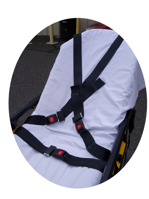 Chest Restraint Set for New Stryker XPS Cots