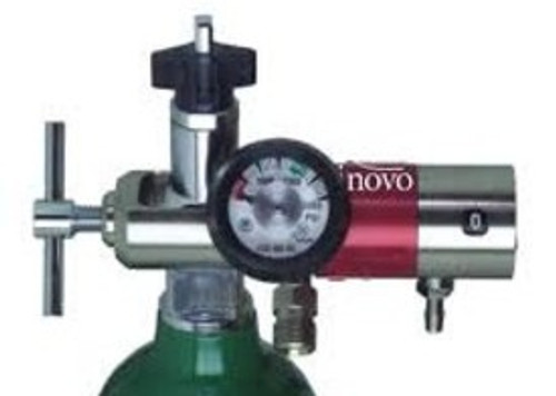 Oxygen Regulator 0-25 Lpm w/50psi Ports & Inset Knob