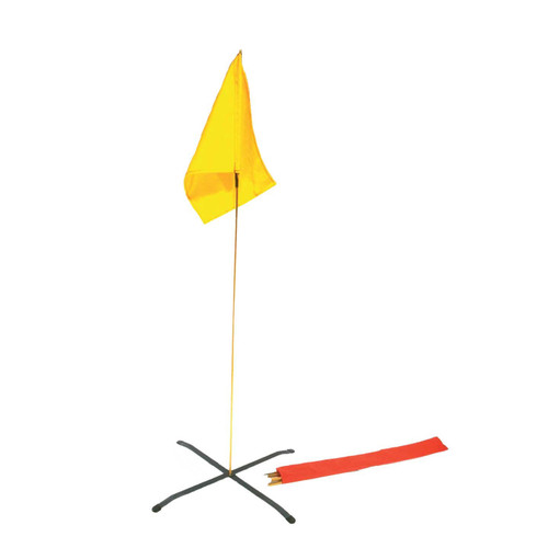 Triage Flag - Yellow with Stand