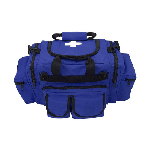 Trauma Bag Deluxe - Royal Blue Front