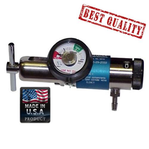 Brass Oxygen Regulator 0-25 Lpm