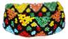 Mexican Huichol Rainbow beaded bracelet