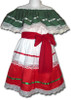 Girl's Mexican Fiesta Traditional Dress Size 6