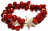 Mexican Colorin Seed Bracelet Star