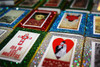 Day of the Dead Mexican Fiesta Quinceanera Matchbox Favors - Set of 50