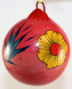 Mexican Pottery Christmas Ornament - Pink Siesta