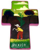 Handcrafted Mexican Talavera Pottery Cross