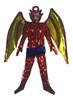 Mexican Tin Christmas Devil Ornament - Satan Devil Wings