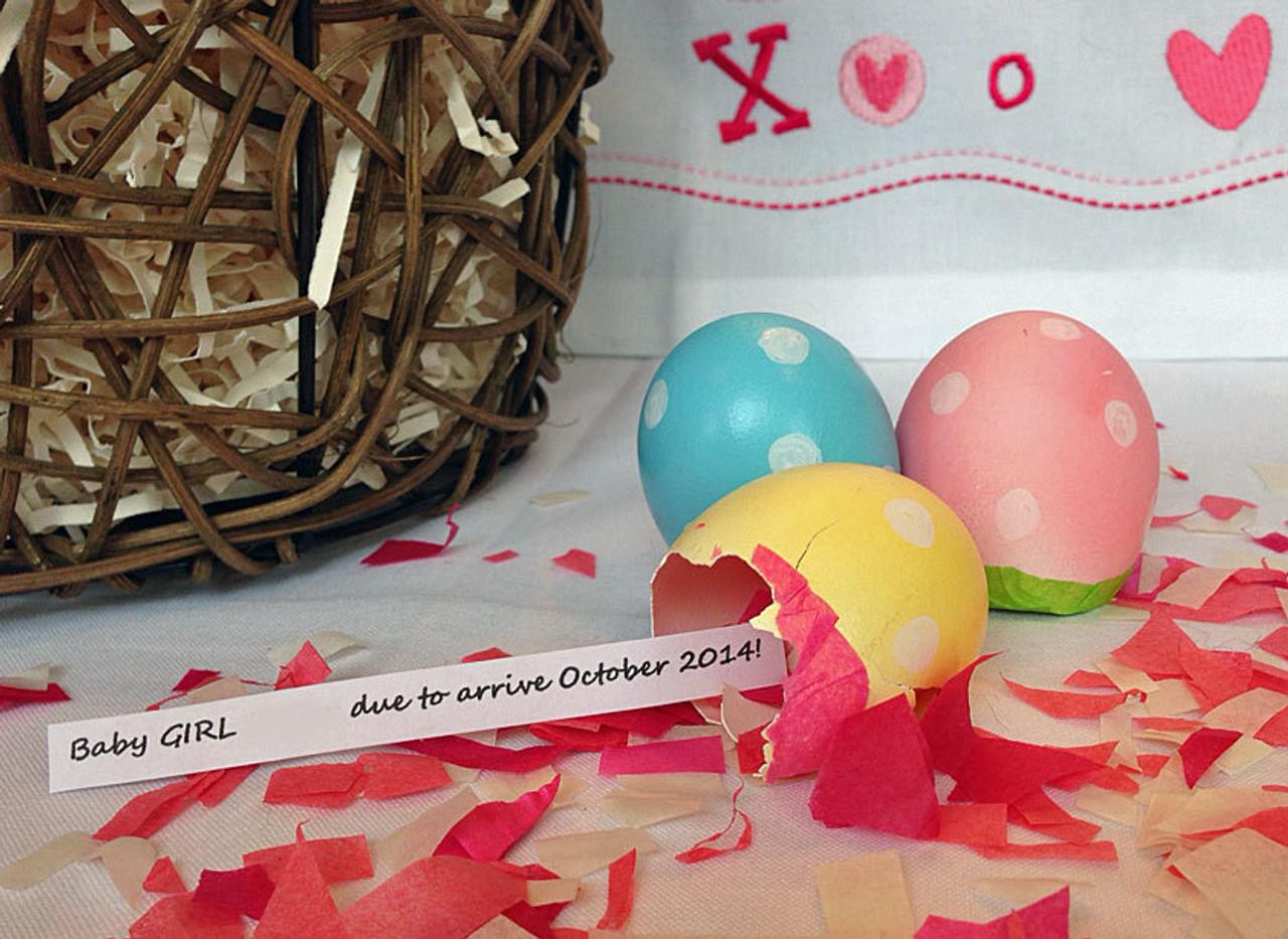Easter & Gender Reveal Cascarones
