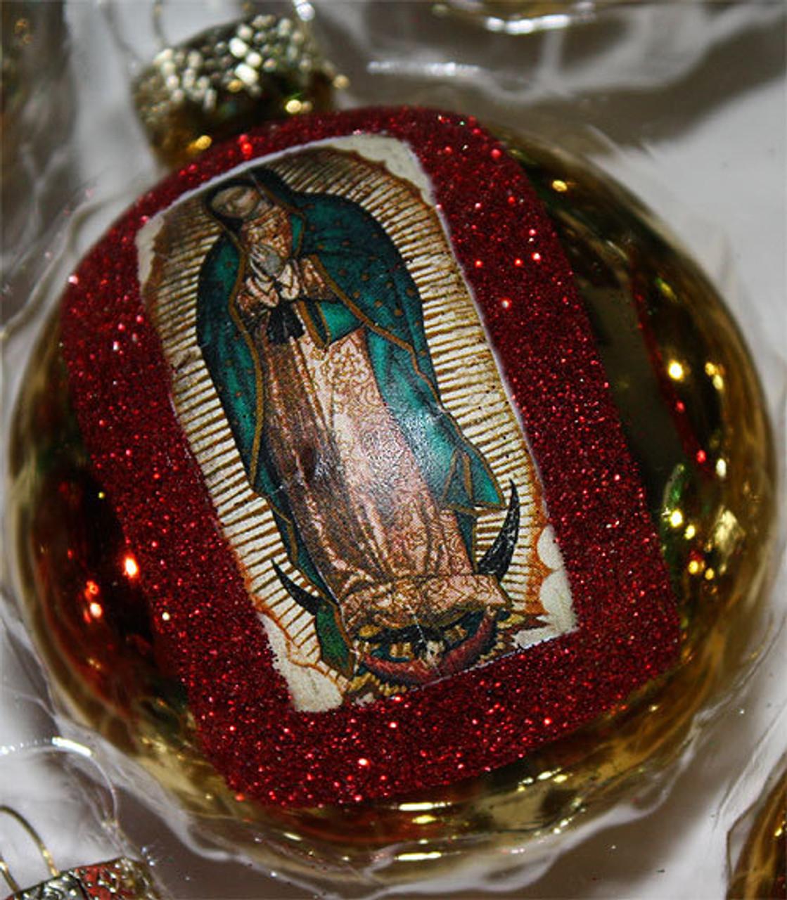 Mexican Christmas Decorations.La Virgen De Guadalupe Mexican Christmas Decorations