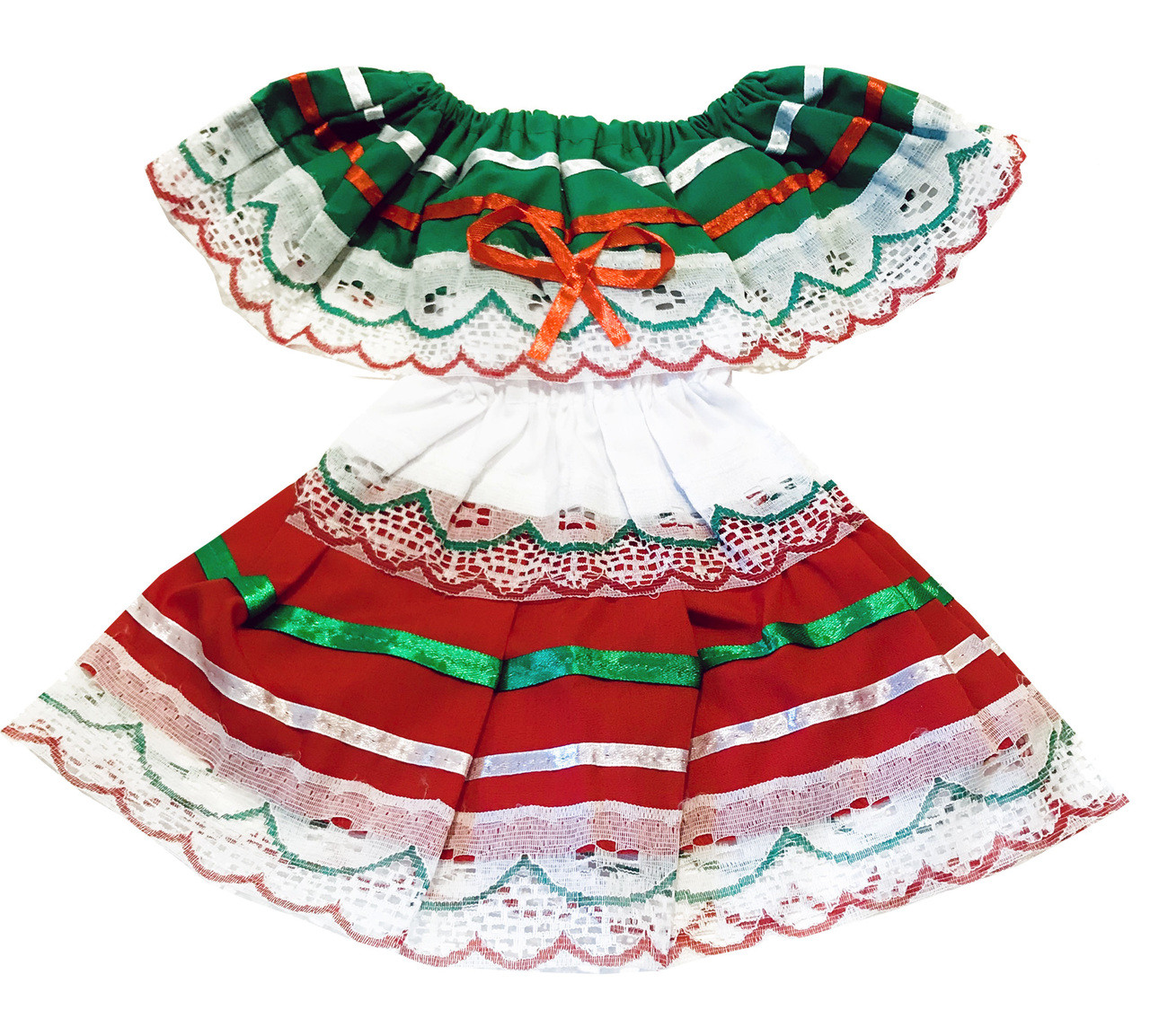 Baby girl mexican fiesta dress newborn size xs my mercado mexican imports