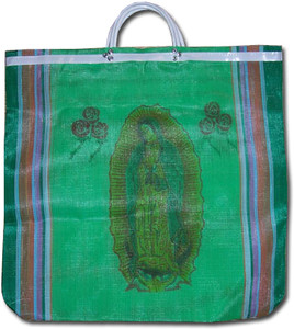 Virgen de Guadalupe Women's Mexican Mercado Bag