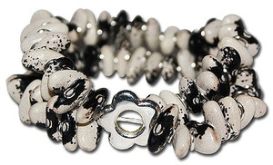 Mexican Bracelet Seeded Cow Beans Unisex
