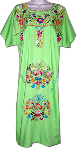 Mexican Embroidered Women's Fiesta Dress XL