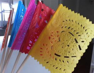 Papel Picado Banderita Color Flags