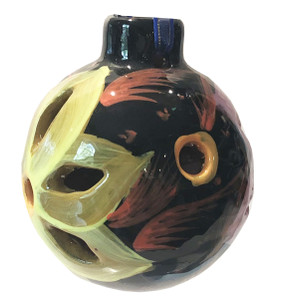 Mexican Pottery Christmas Ornament - Ball 011