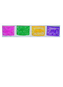 Colorful papel picado