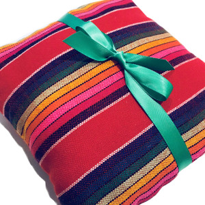 Mexican Wedding Ring Serape Ringbearer Pillow