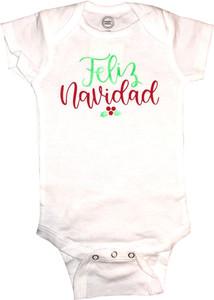 Baby Outfit Bodysuit Spanish Feliz Navidad