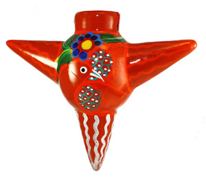 Mexican Pottery Christmas Ornament - Ball 021