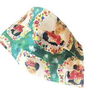 Face Mask Reusable Washable Cotton Frida Kahlo
