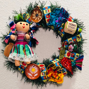 Mexican Christmas Wreath Toys