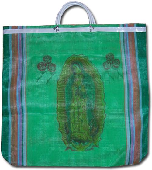 Virgen de Guadalupe Women's Mexican Mercado Bag