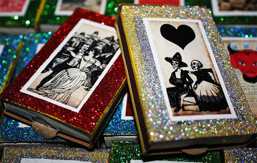Day of the Dead Mexican Wedding Matchbox Favors - Set of 25