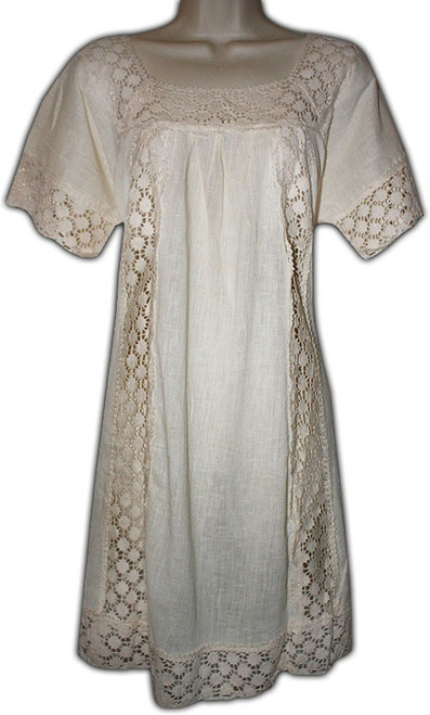 Mexican Manta Women's Lace Dress