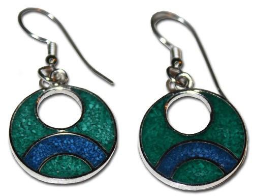 Mexican Alpaca Earrings