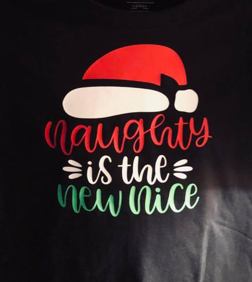 Christmas Holiday T-Shirt Naughty Nice