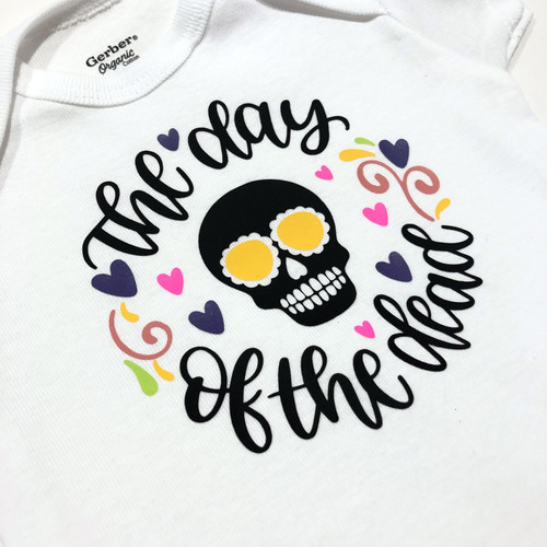 Baby Outfit Bodysuit Spanish Day of the Dead One Piece