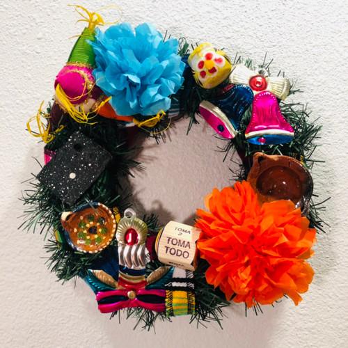Mexican Christmas Wreath
