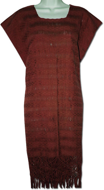 Women's Huipil Style Mexican Dress M