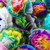Mexican Paper Tissue Flowers - Set of 40