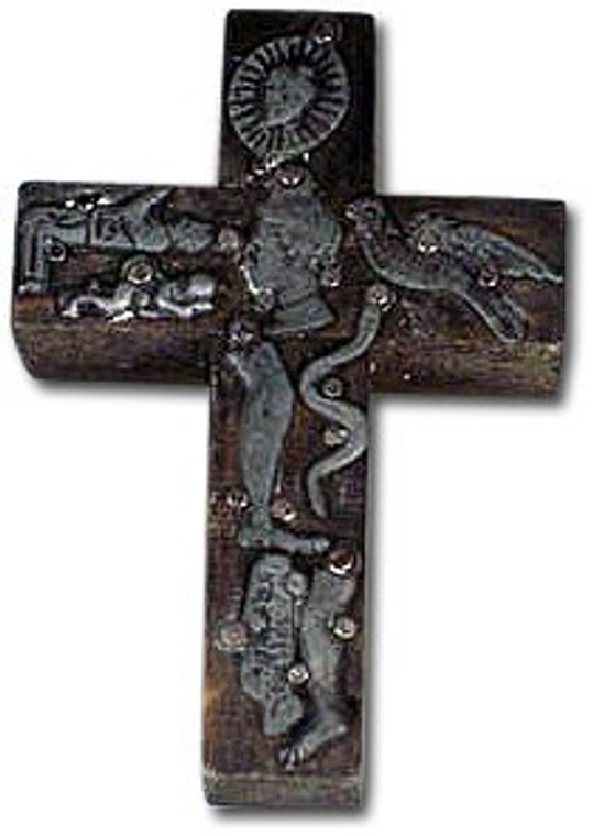 Mexican Milagro Wooden Cross