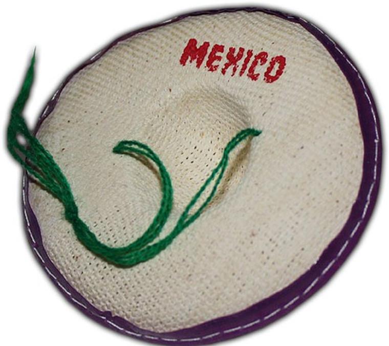 Mini Sombrero Party Favors