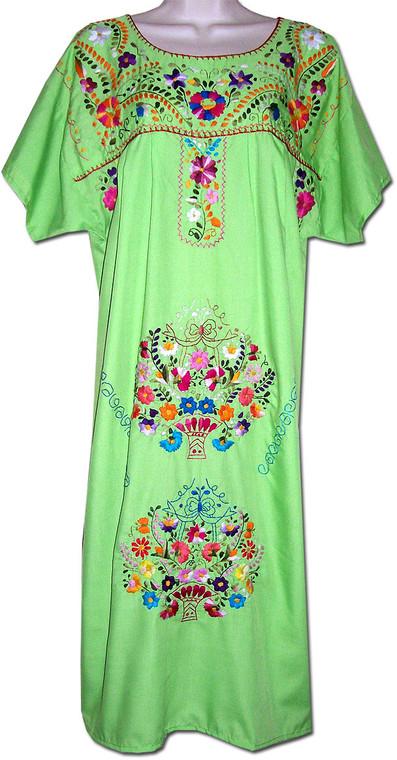 Mexican Embroidered Women's Fiesta Dress XL