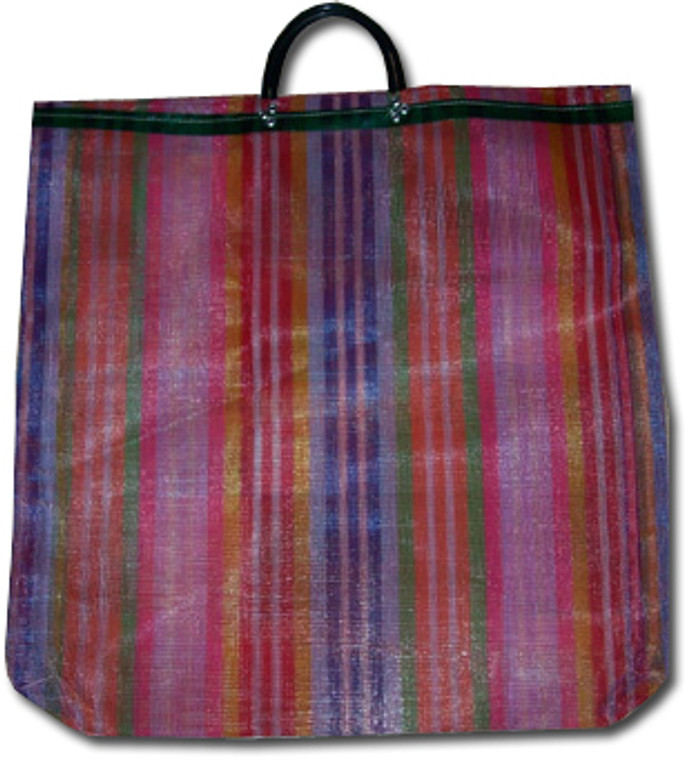 Mexican Mercado Plastic Shopping Bag
