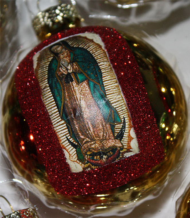 La Virgen de Guadalupe Mexican Christmas Decorations