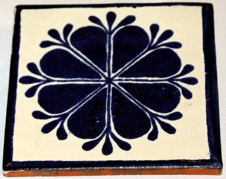 Mexican Talavera Tile - Blue