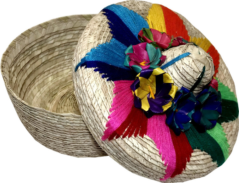 Palm Tortilla Basket Warmer Mexican Basket Keeper