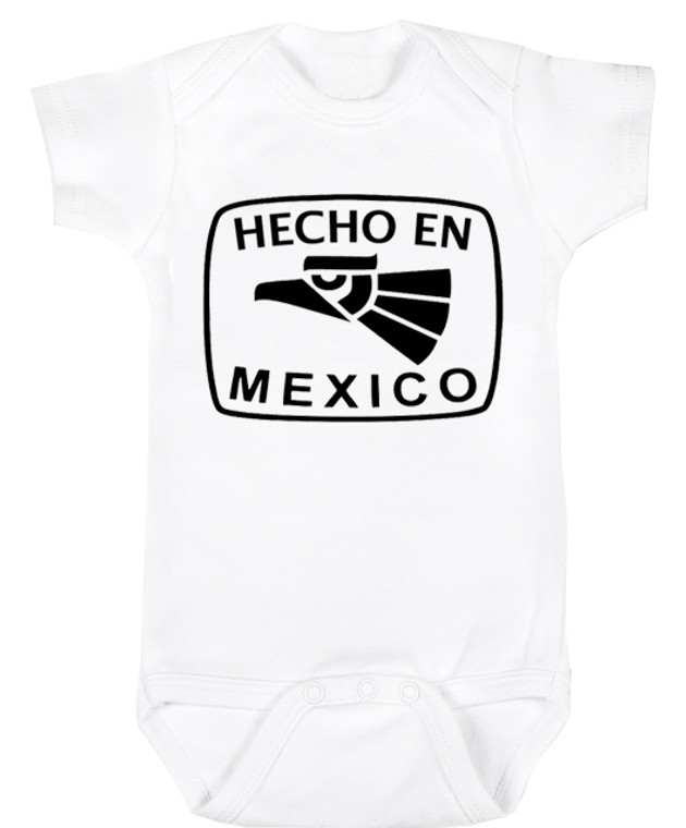 Baby Outfit Bodysuit Spanish Hecho en Mexico