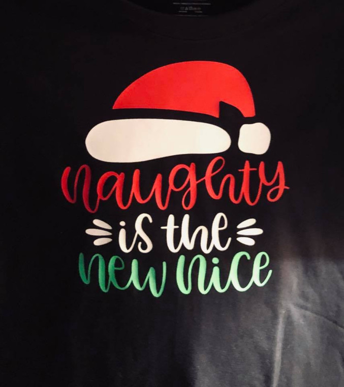 Christmas Holiday T-Shirt Naughty Nice