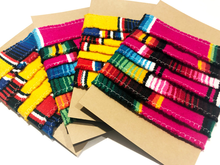 Mexican Serape Christmas Garland Wreath Mantle