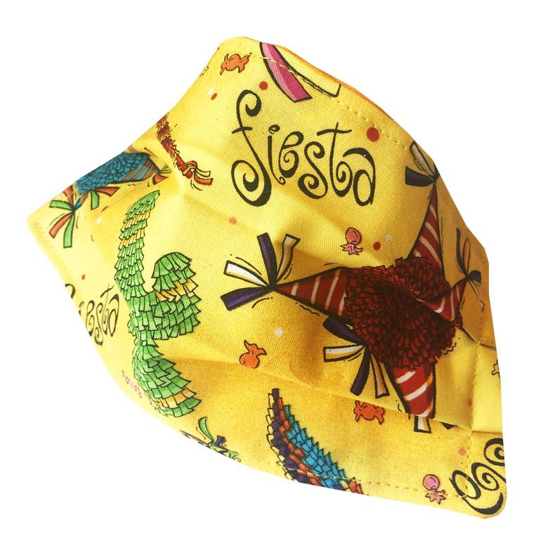 Face Mask Reusable Washable Cotton Fiesta Pinata