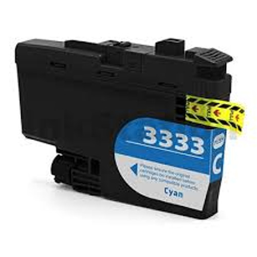 Brother LC-3333 Cyan - 1,500 pages **Compatible**